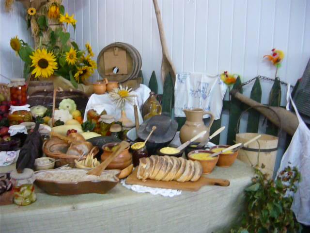 potrawy Koła Gospodyń Wiejskich