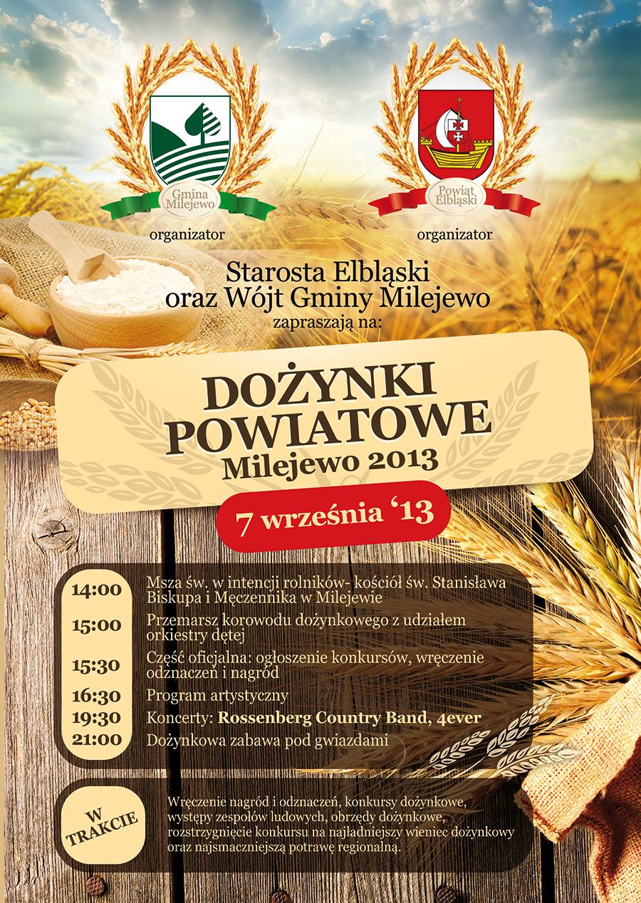 Dożynki Powiatowe- Milejewo