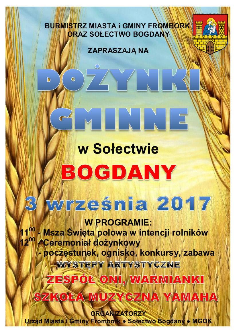 Dożynki Gminne w Bogdanach