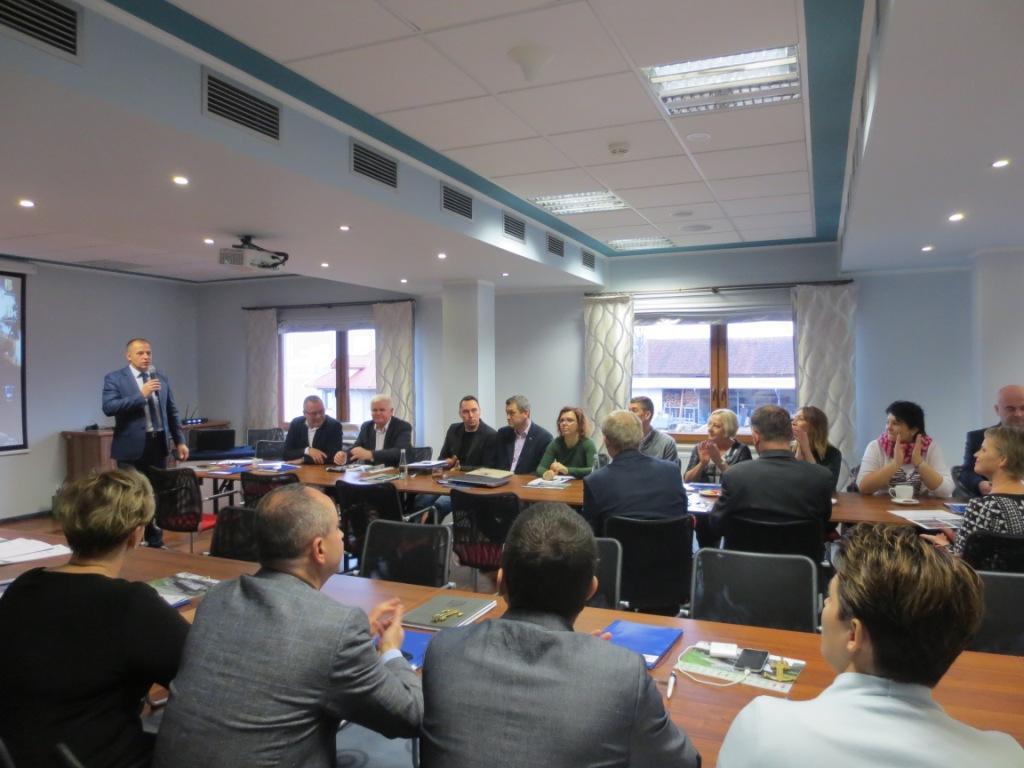 spotkanie szkoleniowo-informacyjne dla LGD