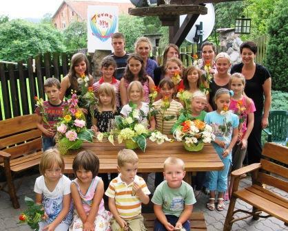 Sąpy- zajęcia florystyczne