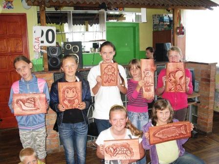warsztaty rzeźbiarskie- Milejewo